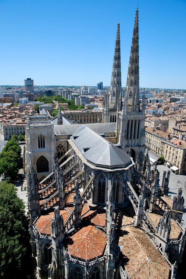 Catedral de Andrew no Bordéus imagem de stock royalty free