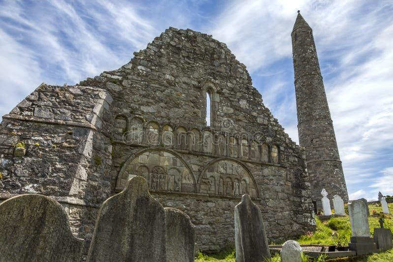 Catedral de Ardmore - condado Waterford - Irlanda foto de archivo