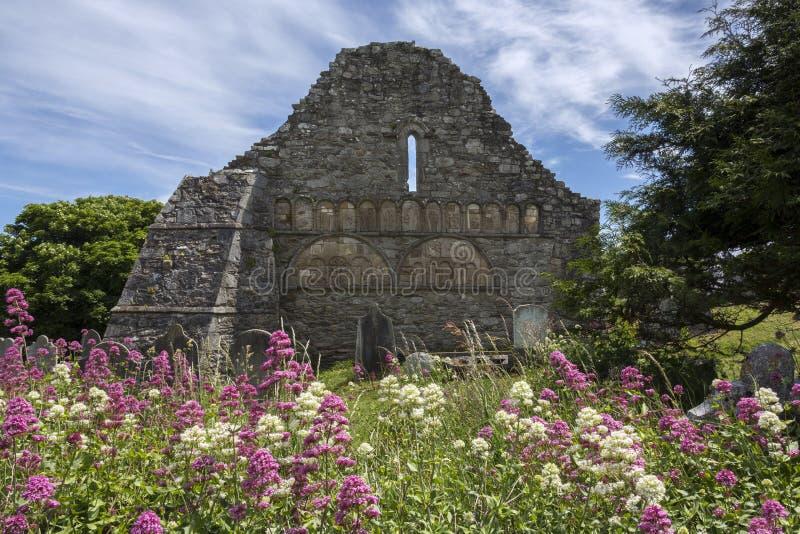Catedral de Ardmore - condado Waterford - Irlanda foto de archivo libre de regalías