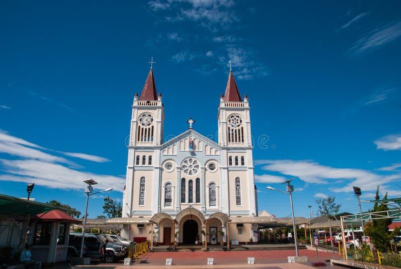 Catedral de Baguio imagen de archivo libre de regalías