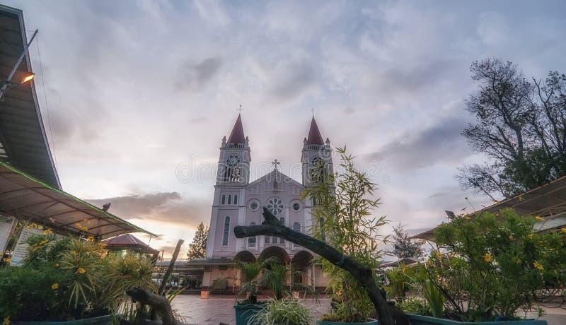Catedral de Baguio imágenes de archivo libres de regalías