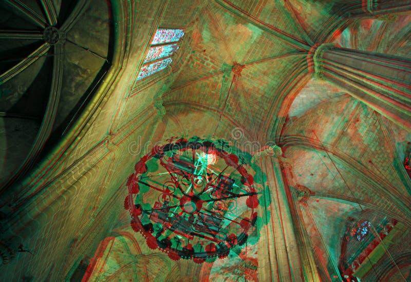 Catedral de Barcelona imagem de stock