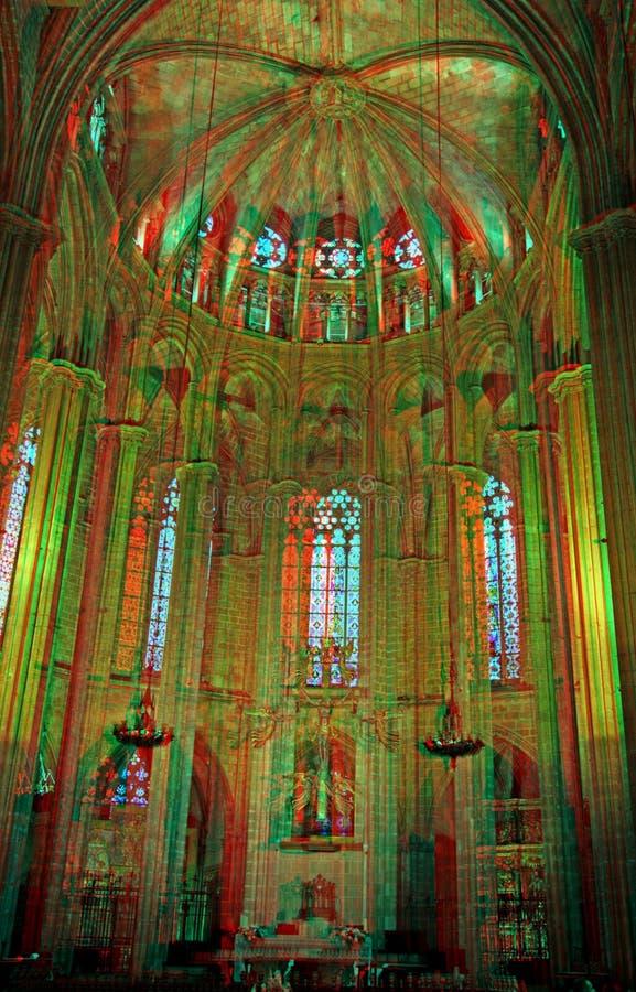 Catedral de Barcelona imagen de archivo libre de regalías