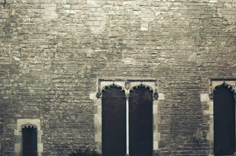 Catedral de Barcelona, España fotografía de archivo libre de regalías