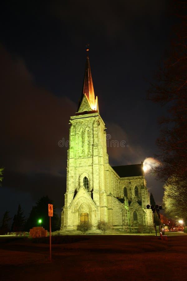 Catedral de Bariloche foto de archivo
