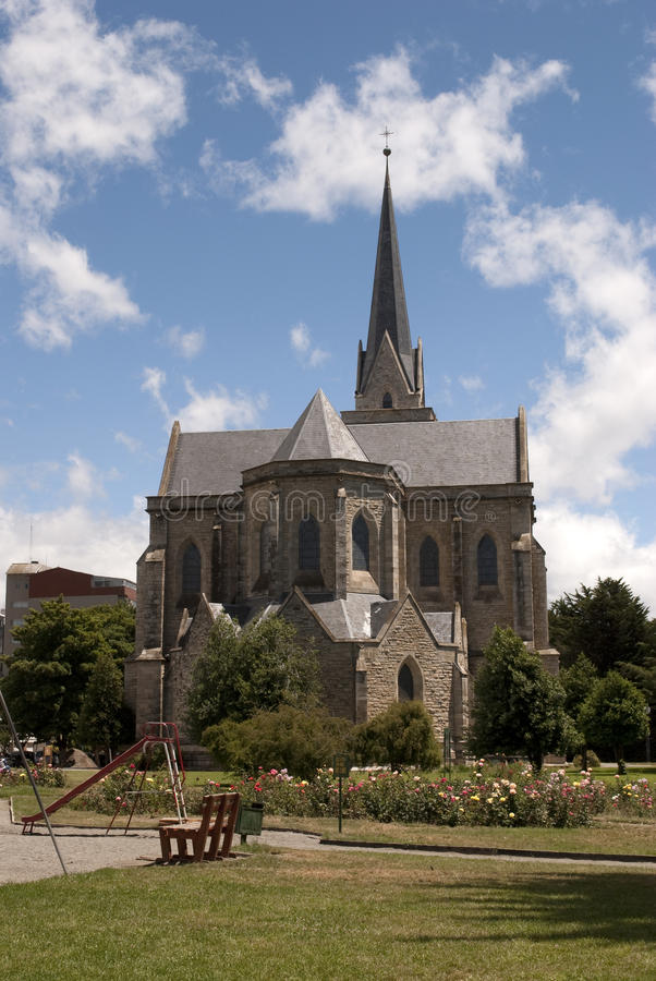 Catedral DE Bariloche, Argentinië royalty-vrije stock fotografie