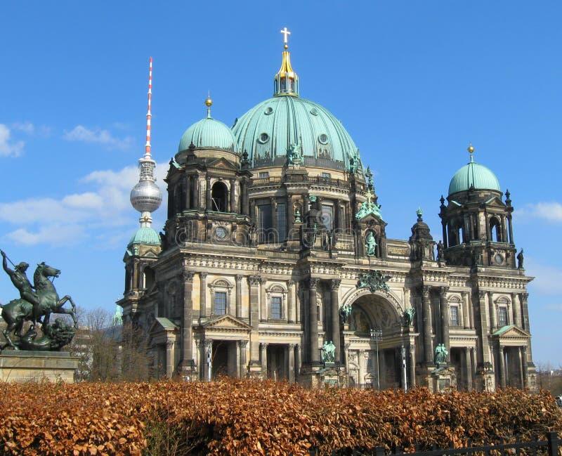 Catedral de Berlim fotos de stock