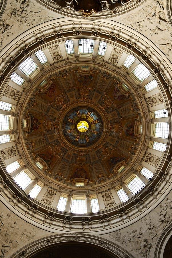 Catedral de Berlim, cúpula fotos de stock