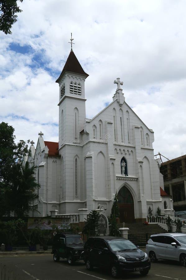Catedral de Bogor fotos de archivo libres de regalías