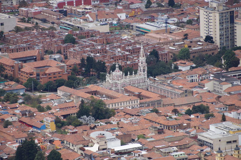Catedral de Bogotá fotografía de archivo libre de regalías