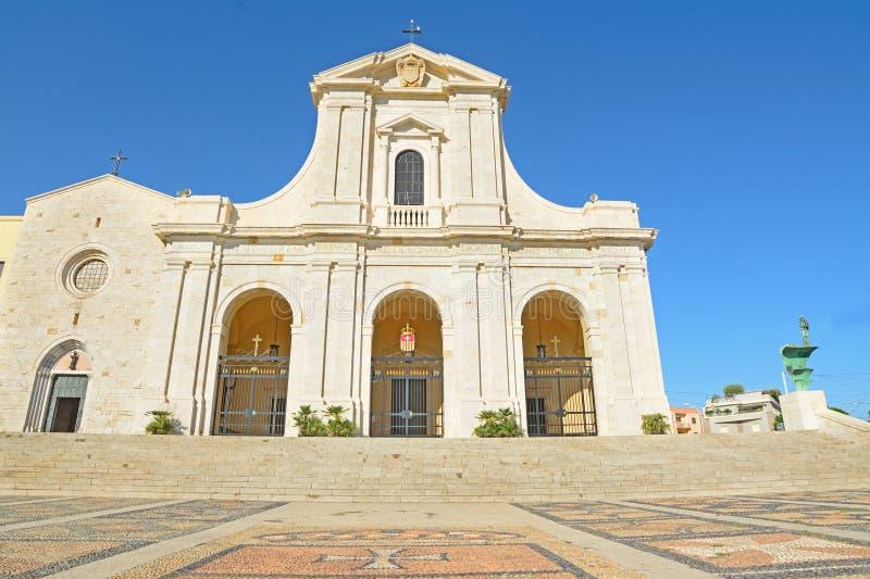 Catedral de Bonaria fotos de stock royalty free