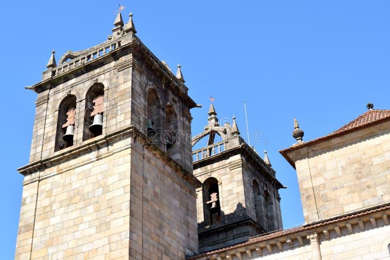 Catedral de Braga fotos de stock royalty free