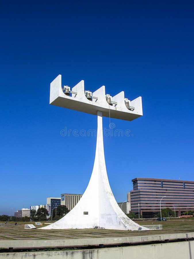 Catedral de Brasilia imágenes de archivo libres de regalías