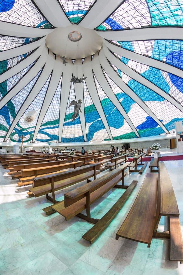 Catedral de Brasilia - Brasília - DF - el Brasil fotografía de archivo libre de regalías