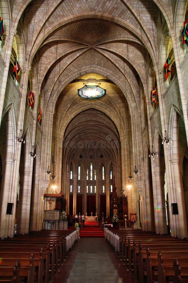 Catedral de Brisbane fotografia de stock royalty free