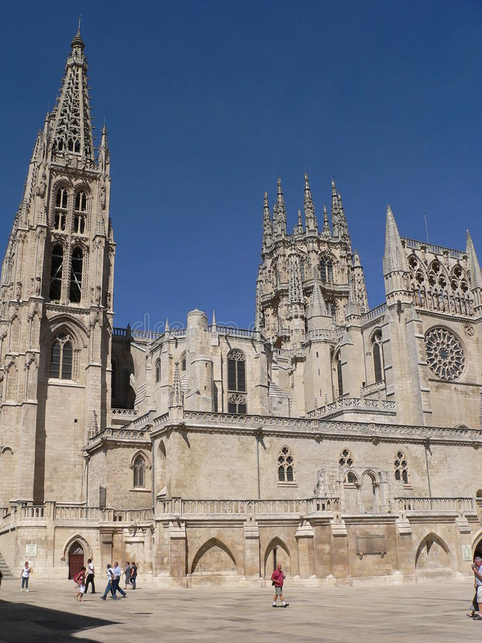 Catedral de Burgos (Ισπανία) στοκ φωτογραφία με δικαίωμα ελεύθερης χρήσης