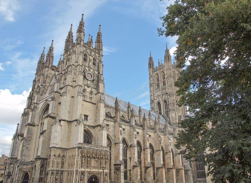 Catedral de Canterbury fotografia de stock