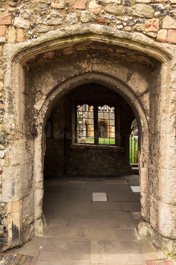 Catedral de Canterbury Canterbury, Kent, Reino Unido imagem de stock royalty free