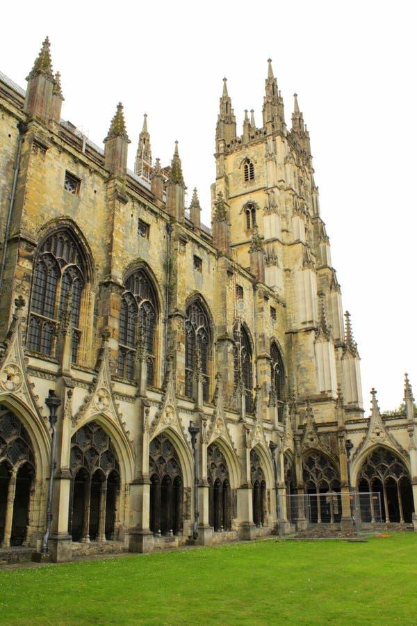 Catedral de Canterbury que constrói Reino Unido imagens de stock royalty free