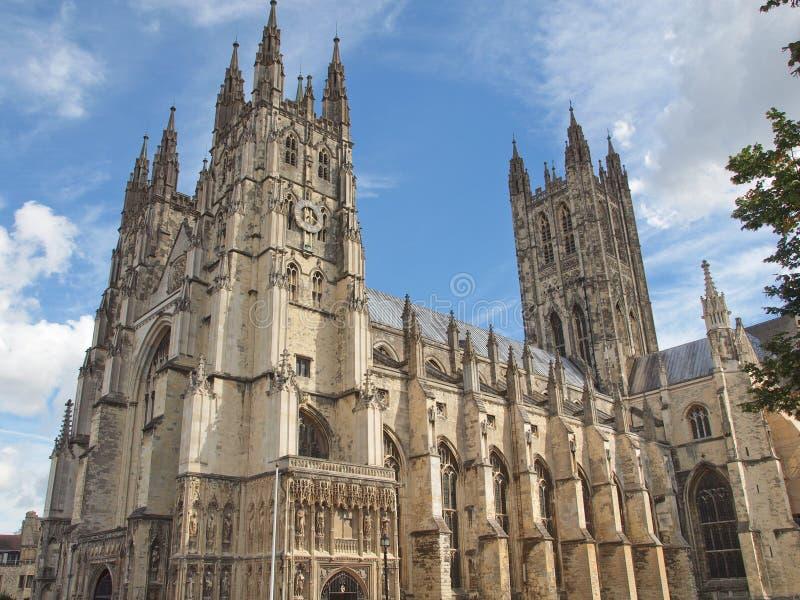 Catedral de Cantorbery foto de archivo libre de regalías