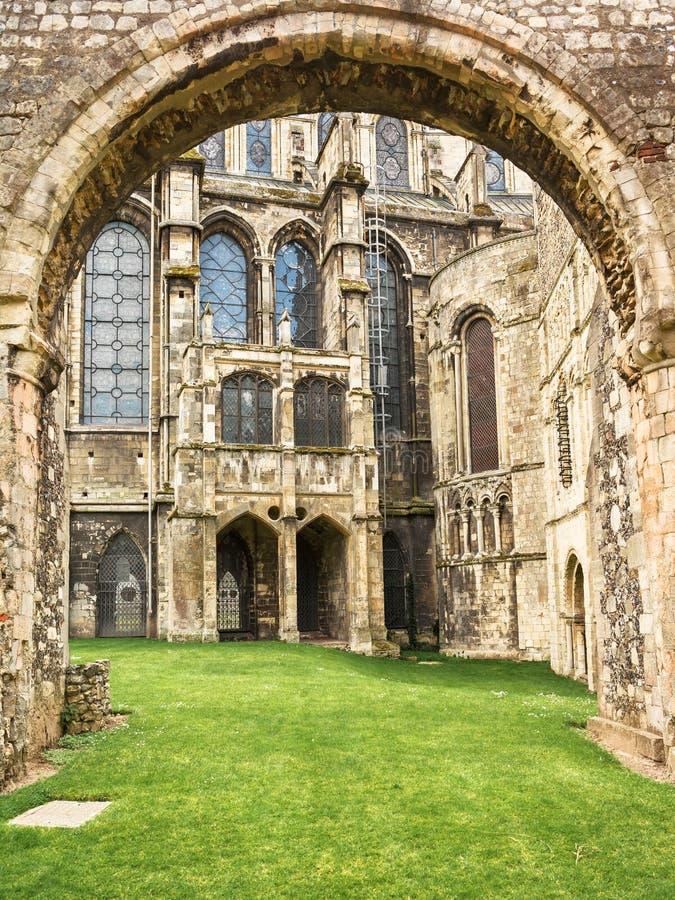 Catedral de Cantorbery Cantorbery, Kent, Reino Unido imágenes de archivo libres de regalías