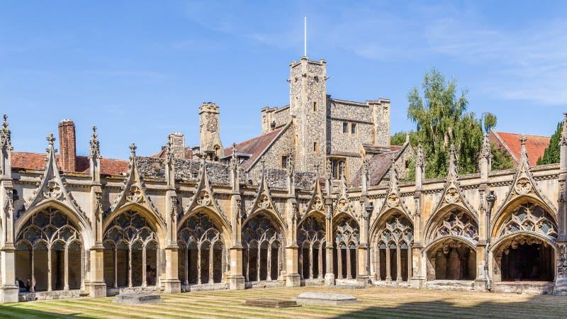 Catedral de Cantorbery en Engeland imagenes de archivo