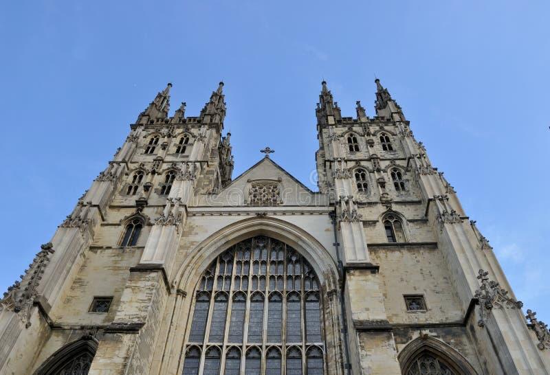 Catedral de Cantorbery, Inglaterra fotografía de archivo libre de regalías