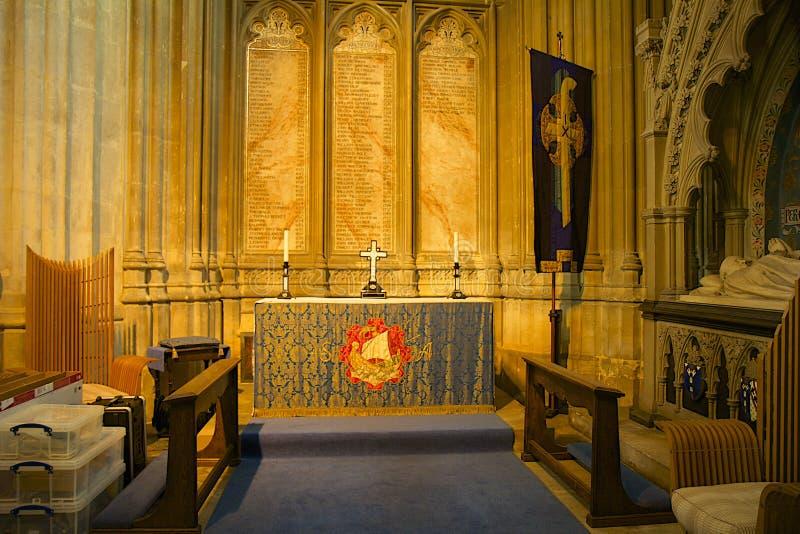 Catedral de Cantorbery, Reino Unido imágenes de archivo libres de regalías