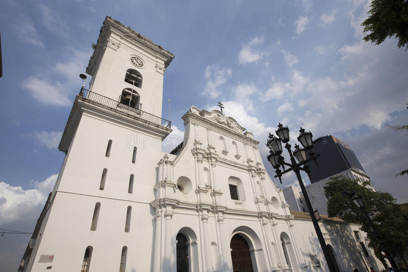 Catedral de caracas, venezuela foto de stock royalty free