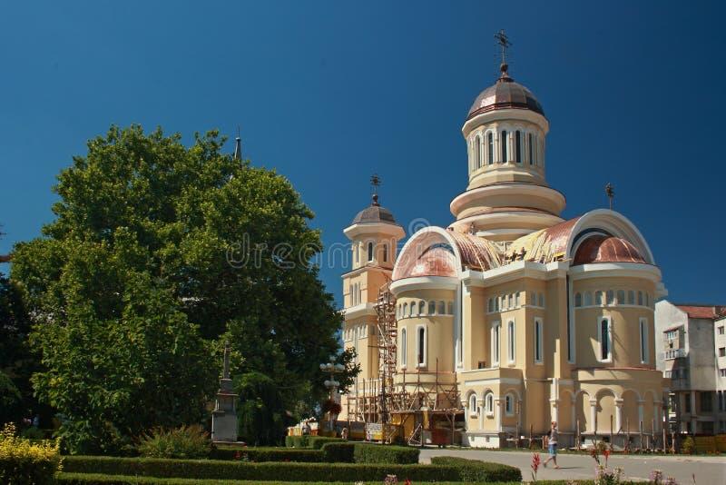 Catedral de Caransebes, Rumania imagenes de archivo