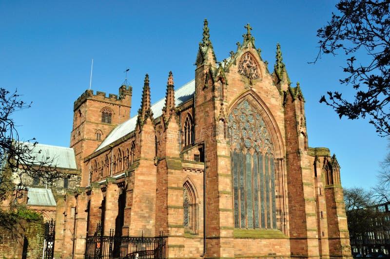 Catedral de Carlisle imagen de archivo libre de regalías