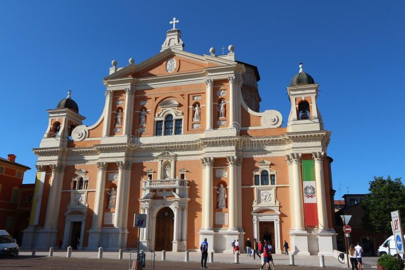 Catedral de carpos, Módena, Italia fotografía de archivo libre de regalías