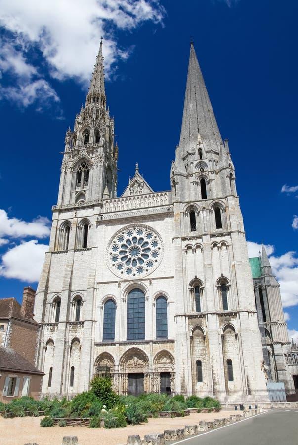 Catedral de Chartres fotos de stock