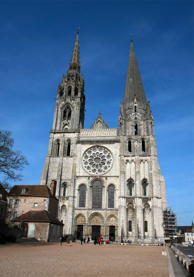 A catedral de Chartres fotografia de stock royalty free