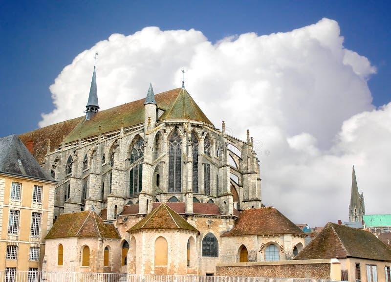 Catedral de Chartres imagem de stock