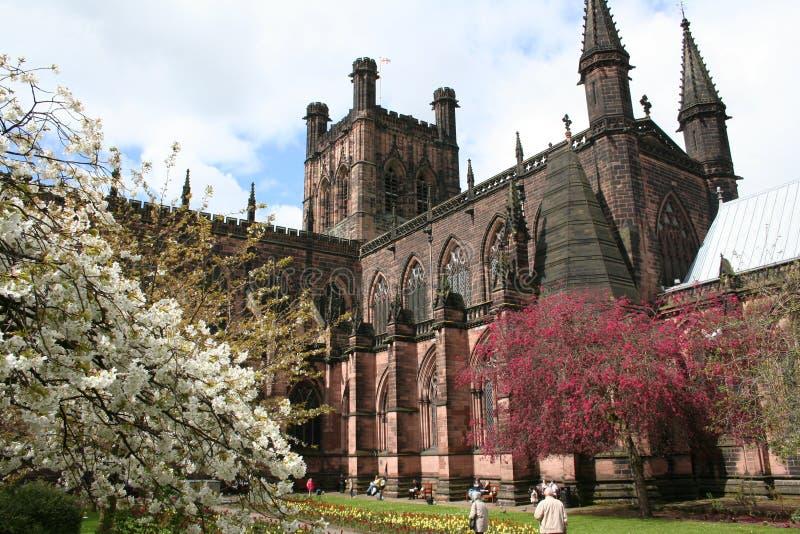 Catedral de Chester fotografía de archivo