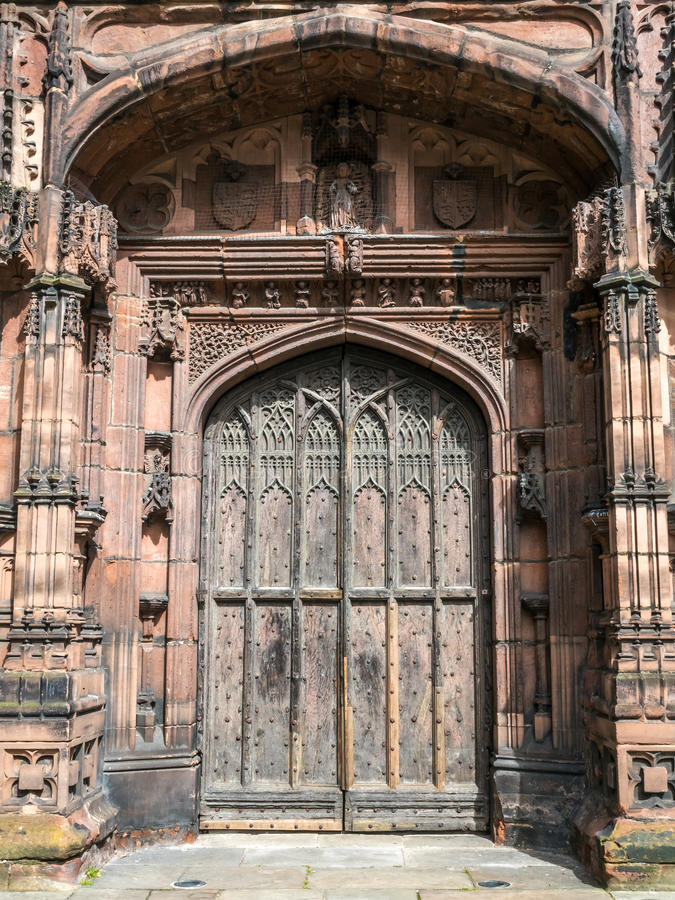 Catedral de Chester en Inglaterra fotografía de archivo