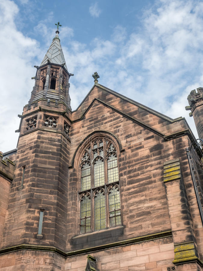 Catedral de Chester en Inglaterra fotografía de archivo libre de regalías