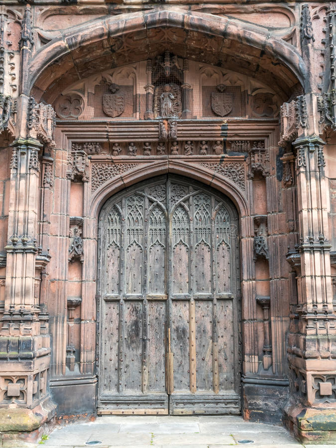 Catedral de Chester en Inglaterra imagen de archivo libre de regalías