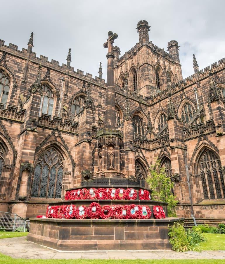 Catedral de Chester en Inglaterra imágenes de archivo libres de regalías