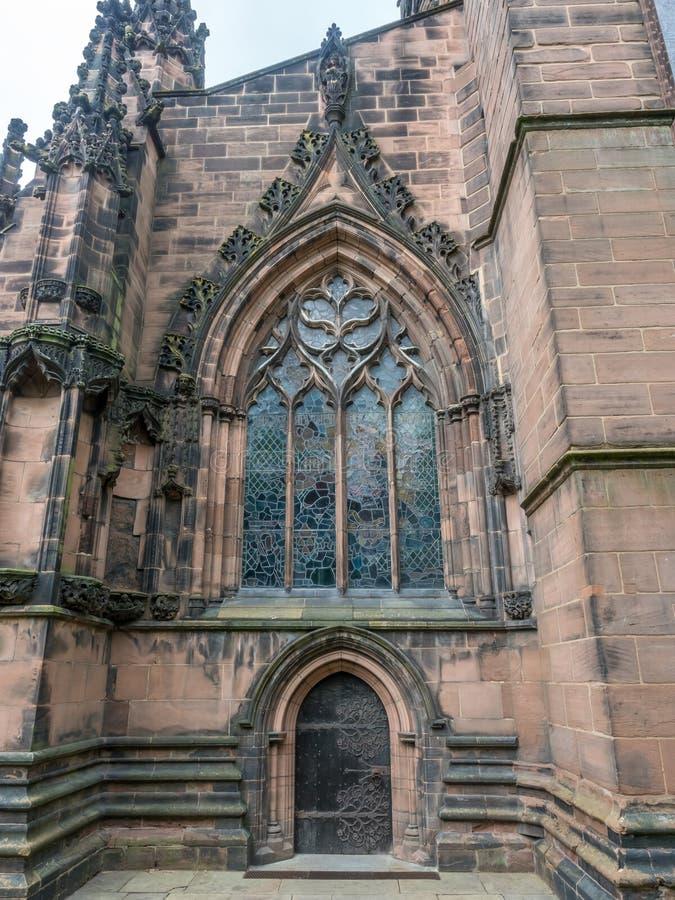 Catedral de Chester en Inglaterra foto de archivo libre de regalías