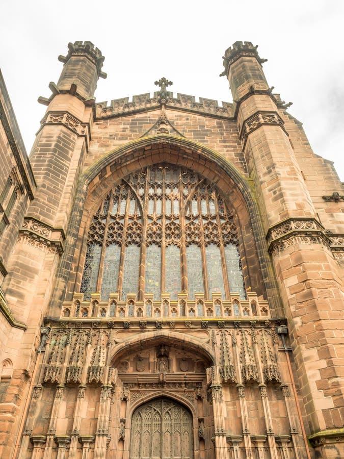 Catedral de Chester en Inglaterra imagenes de archivo