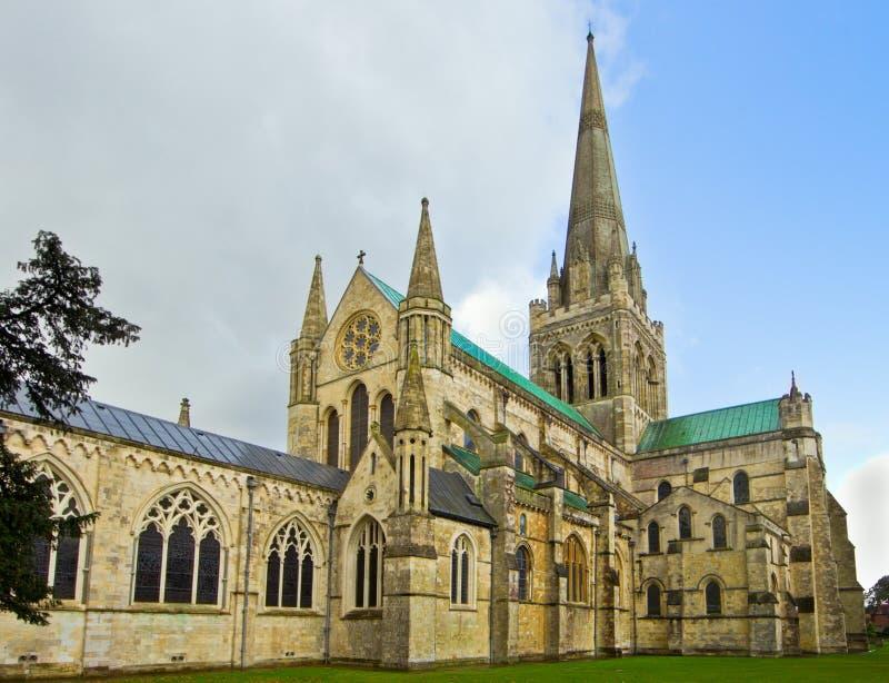 Catedral de Chichester fotos de archivo
