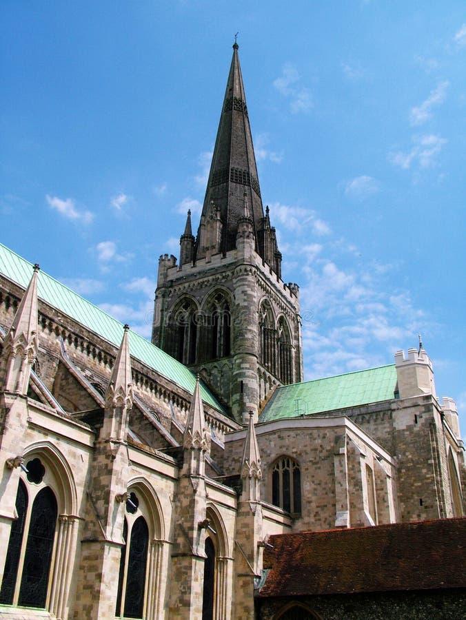Catedral de Chichester   imagem de stock