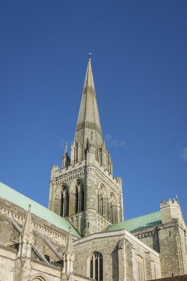 Catedral de Chichester, Reino Unido foto de stock