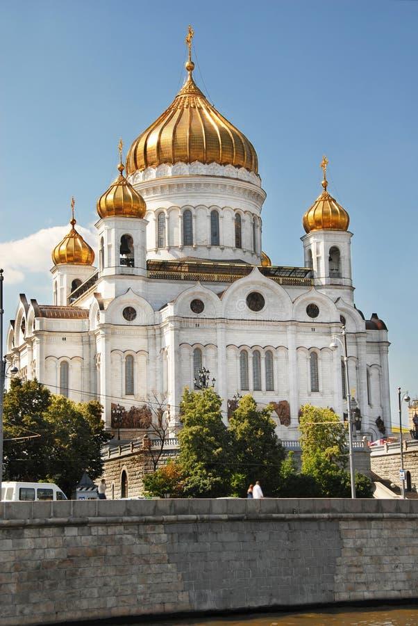 Catedral de Christ o salvador, Moscovo imagens de stock royalty free