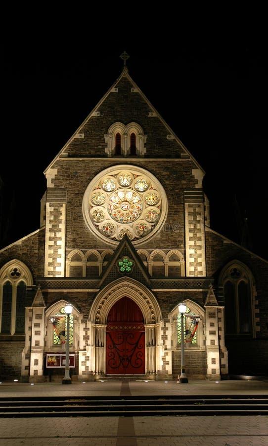 Catedral de Christchurch imágenes de archivo libres de regalías