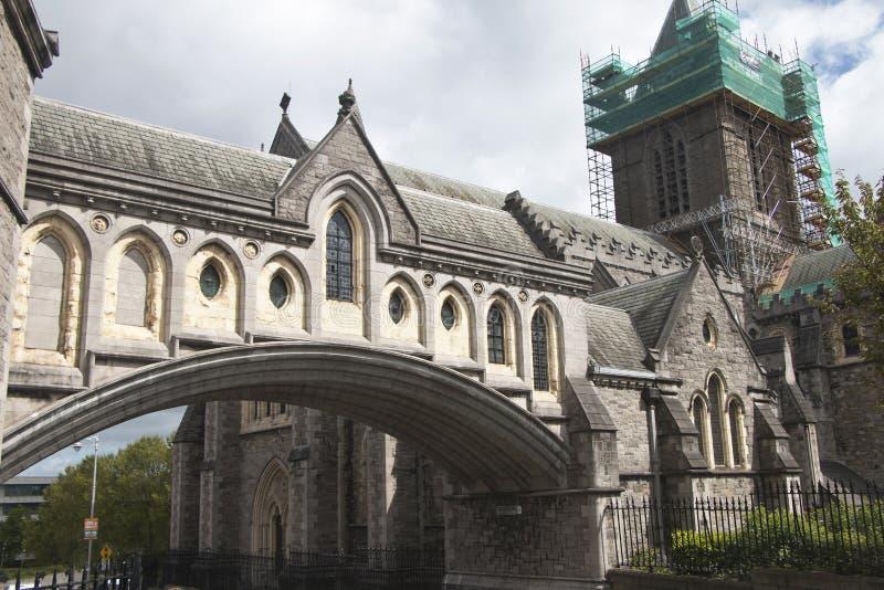 Catedral de Christchurch, cidade de Dublin, condado Dublin fotografia de stock