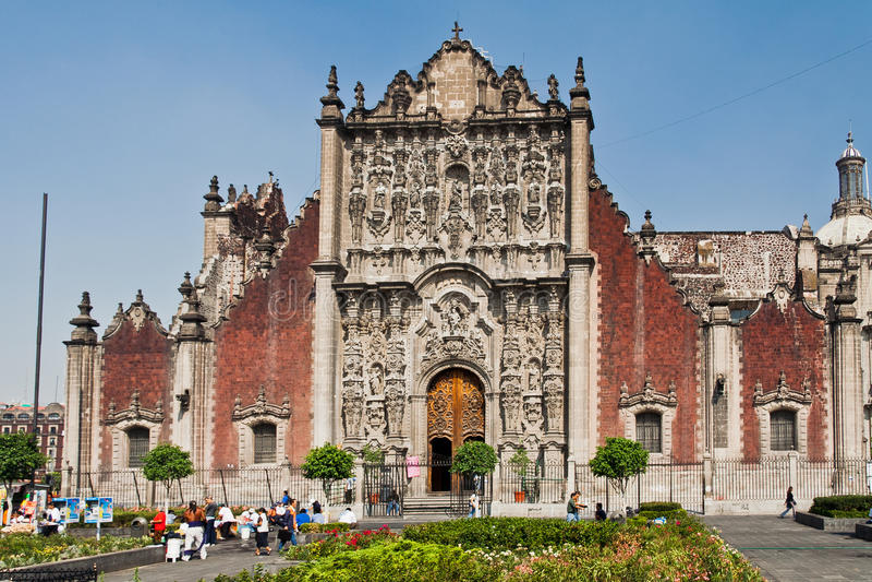 Catedral de Ciudad de México fotos de archivo