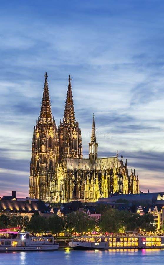 Catedral de Colónia, Alemanha fotografia de stock